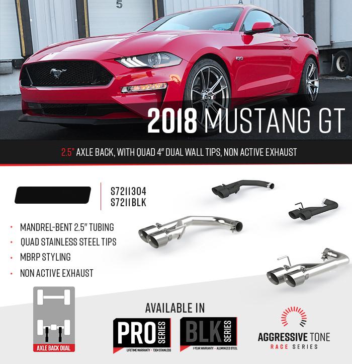 2018 Mustang Exhaust